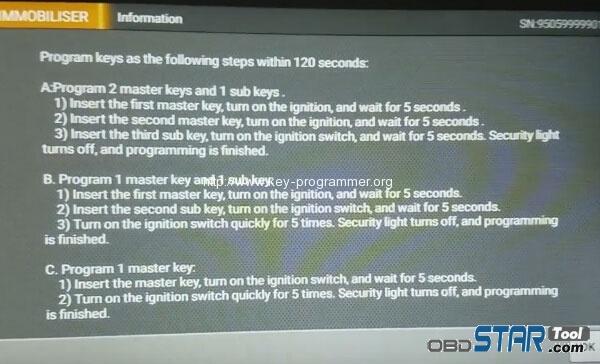 X300 DP PAD Program Toyota Corolla All Keys Lost via OBD